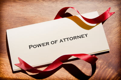 Image of a Power of Attorney document
