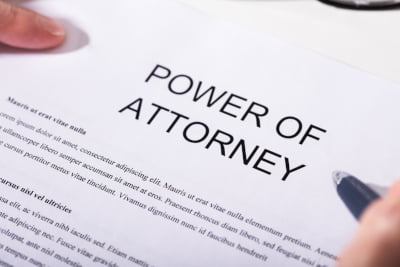 Power of Attorney text