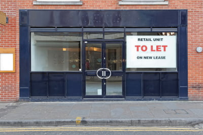 Image of a shop available to let for commercial leasing purposes